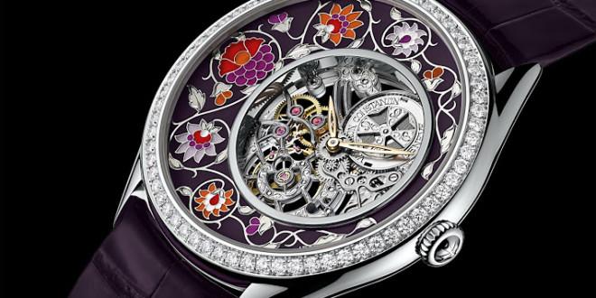 Luxusní dámské hodinky Vacheron Constantin Métiers