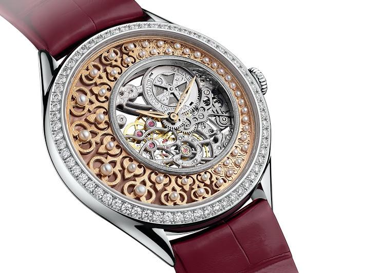Luxusní dámské hodinky Vacheron Constantin Métiers d'Art Fabuleux Ornement