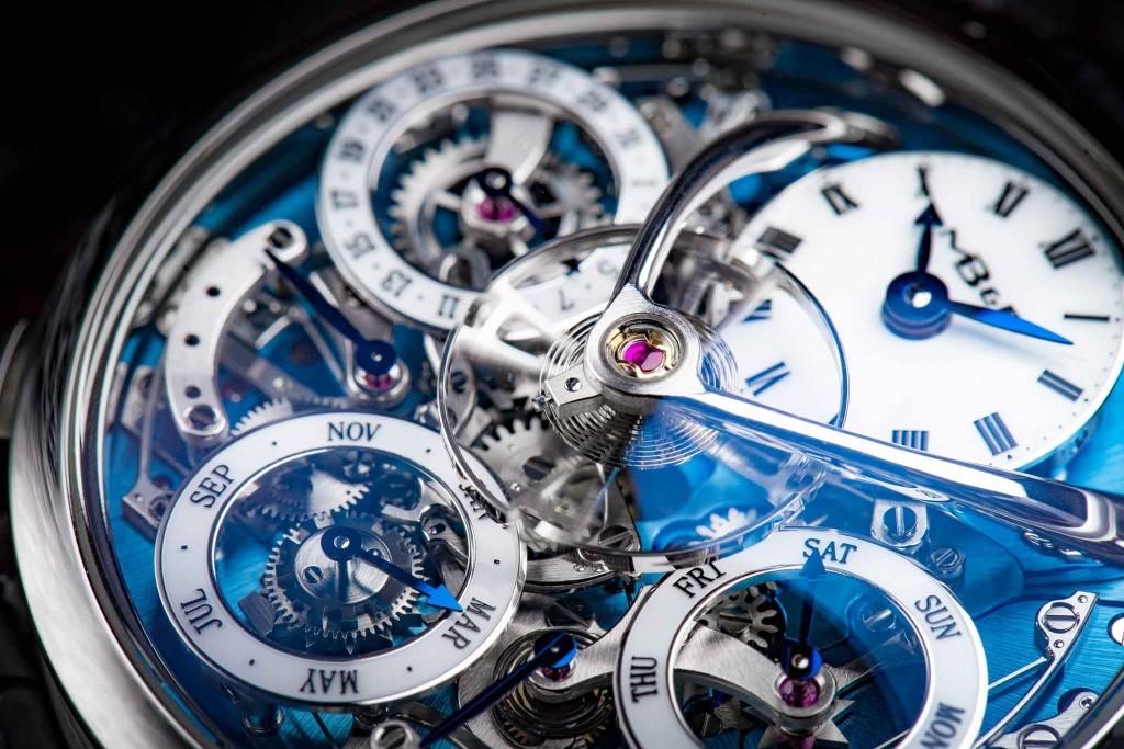 Luxusní hodinky MB&F Legacy Machine