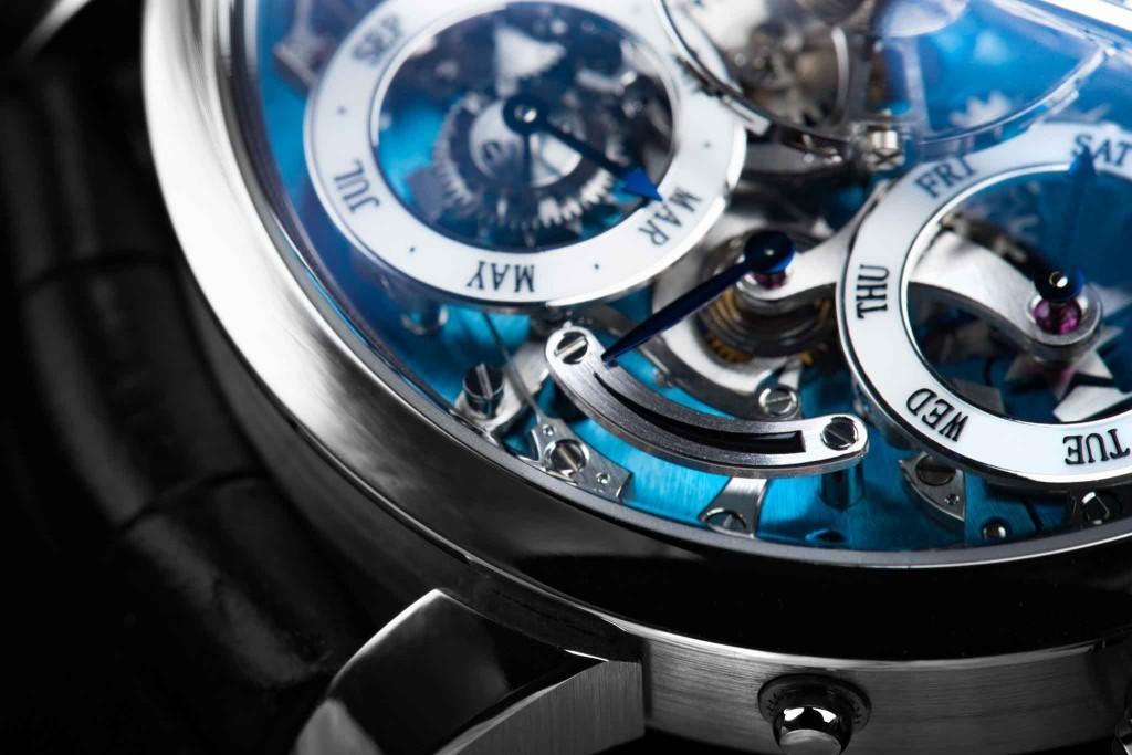 Luxusní hodinky MB&F Legacy Machine Calendar