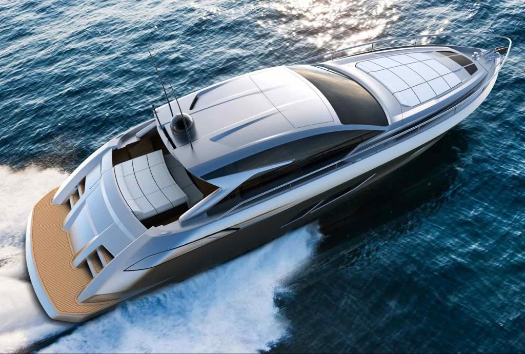 Luxusní sportovní jachta Filippetti S53