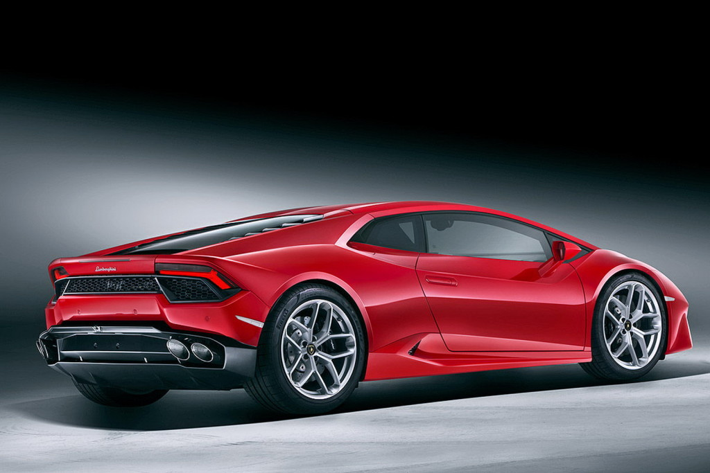 Luxusní automobil - Lamborghini Huracan LP 580-2
