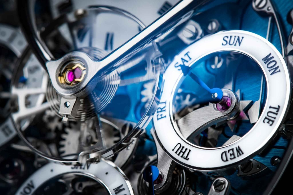 Luxusní hodinky MB&F Legacy Machine Perpetual Calendar