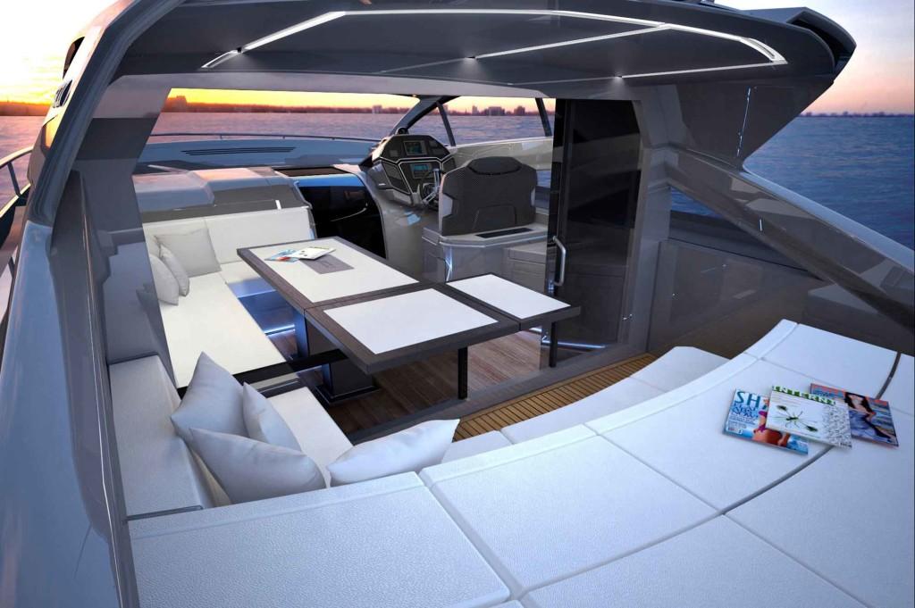 Luxusní sportovní jachta - Filippetti S53
