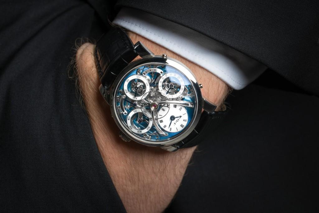 Luxusni hodinky MB&F Legacy Machine Perpetual Calendar