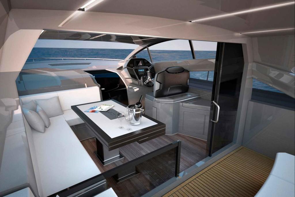 luxusní jachta Filippetti S53