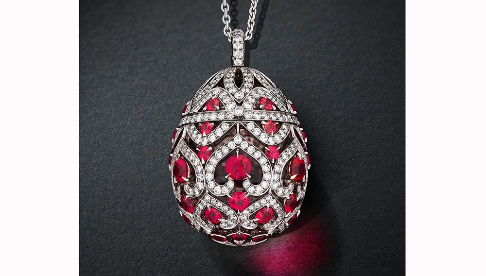 luxusní přívěšky Fabergého vejce