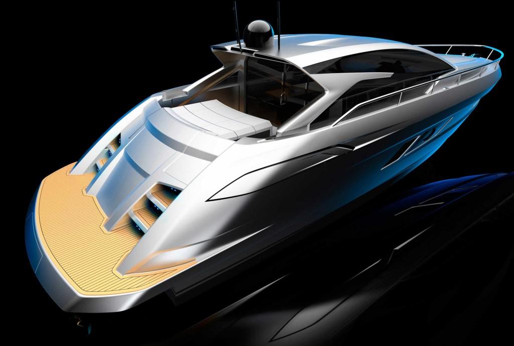 luxusni sportovni jachta Filippetti S53