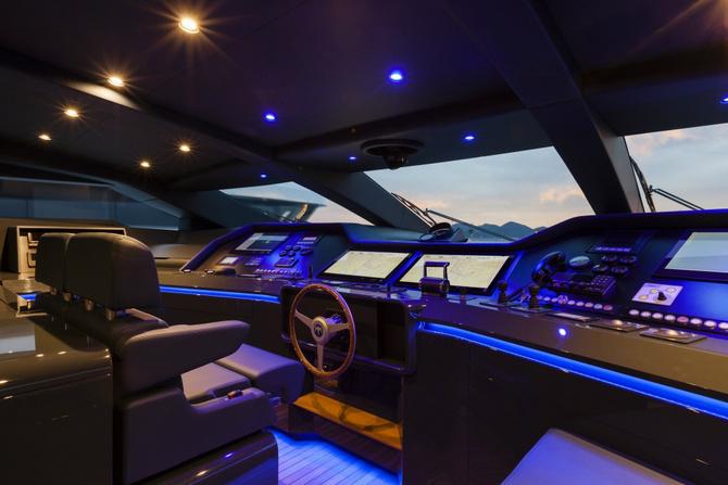 Kabina luxusni jachty Baglietto Pachamama