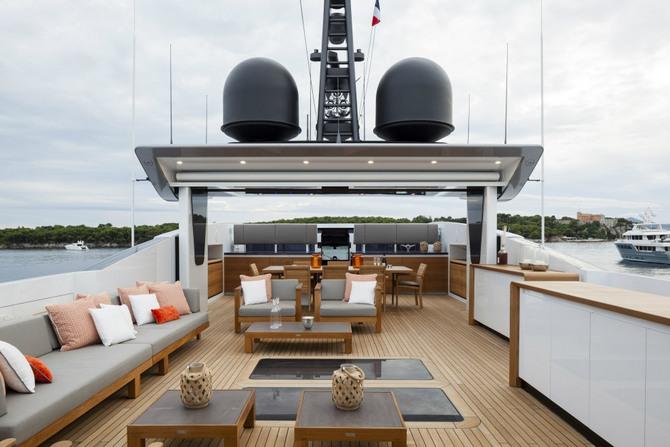 Luxusní jachta - Baglietto Pachamama