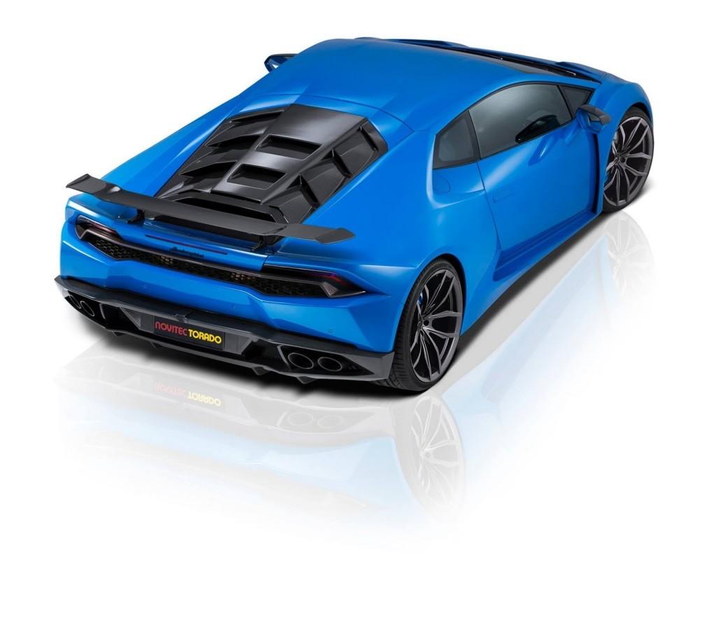 Luxusní vůz Novitec Lamborghini Huracán