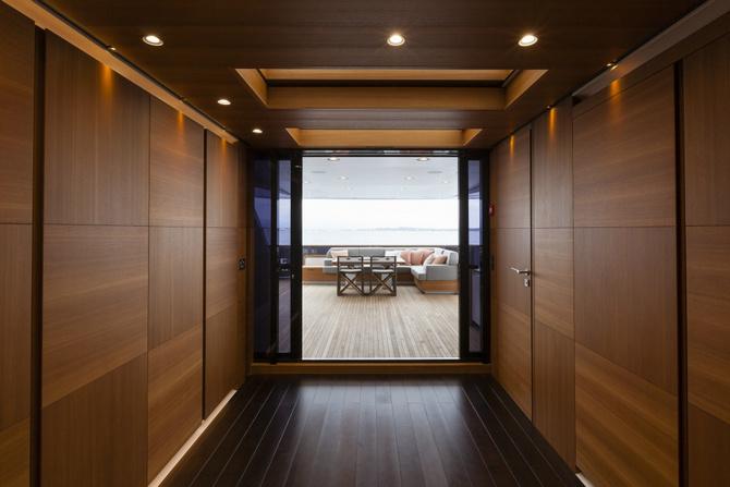 Luxusni jachta Baglietto Pachamama interier