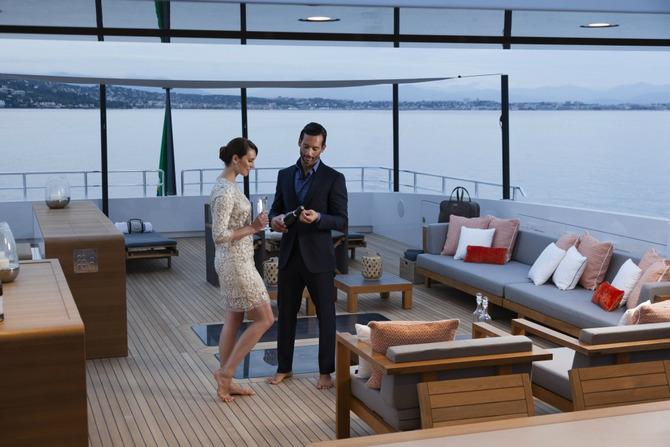 Luxusni jachta - Baglietto Pachamama