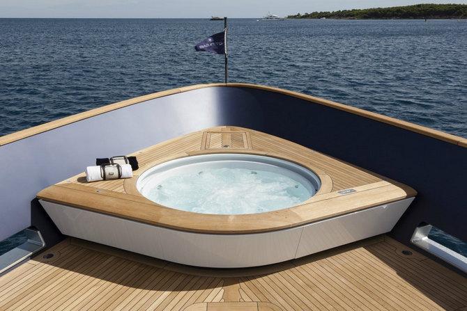 Moderní jachta Baglietto Pachamama
