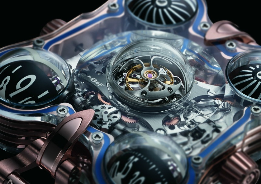"Hodinky MB&F Horological Machine No. 6 SV ""Sapphire Vision"""