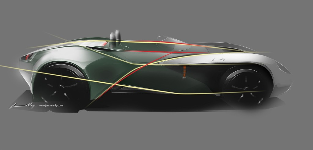 Jannarelly Design-1 skica