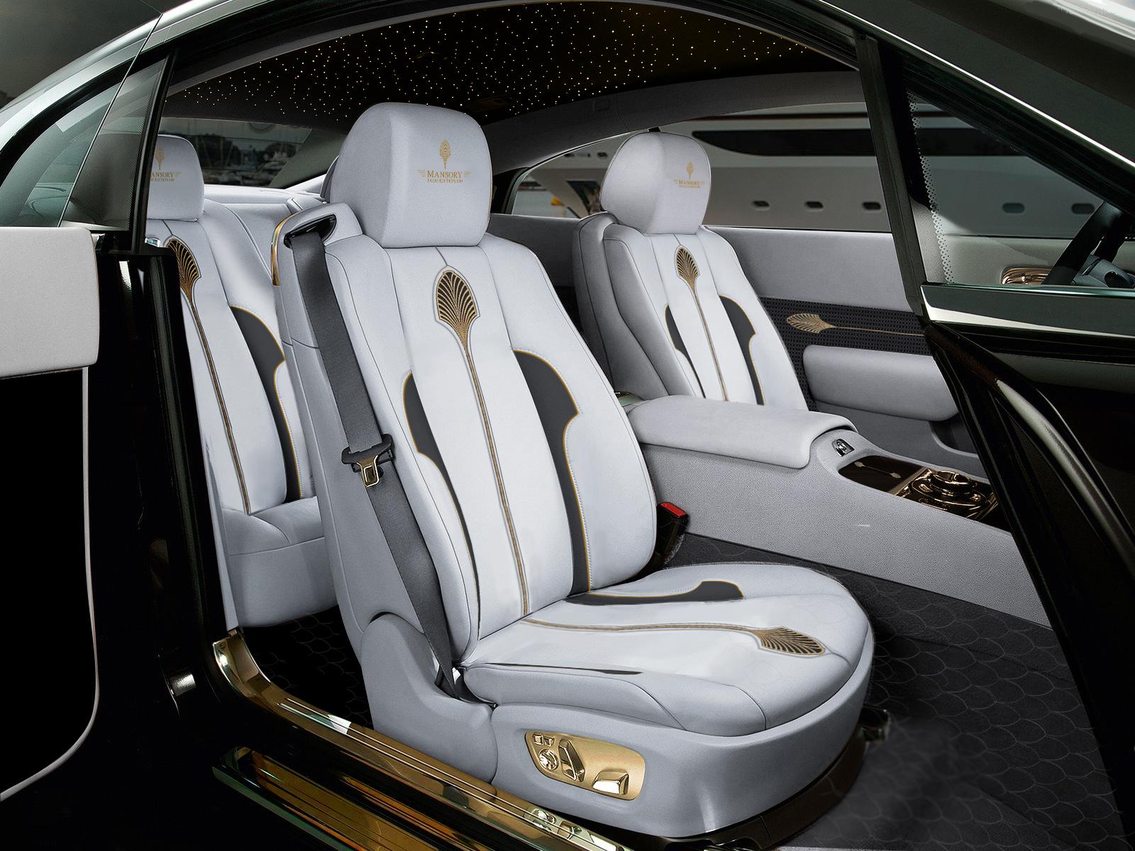 Luxusní Rolls Royce Wraith Palm Edition 999