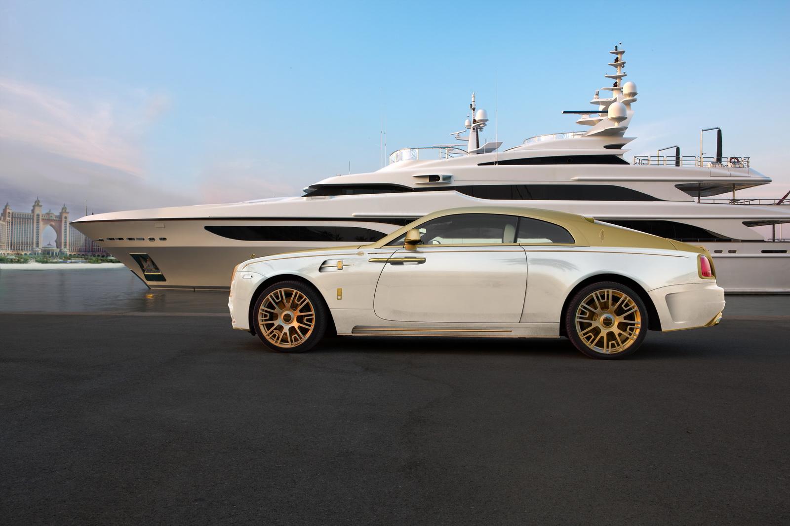 Luxusní automobil Rolls Royce Wraith Palm Edition 999