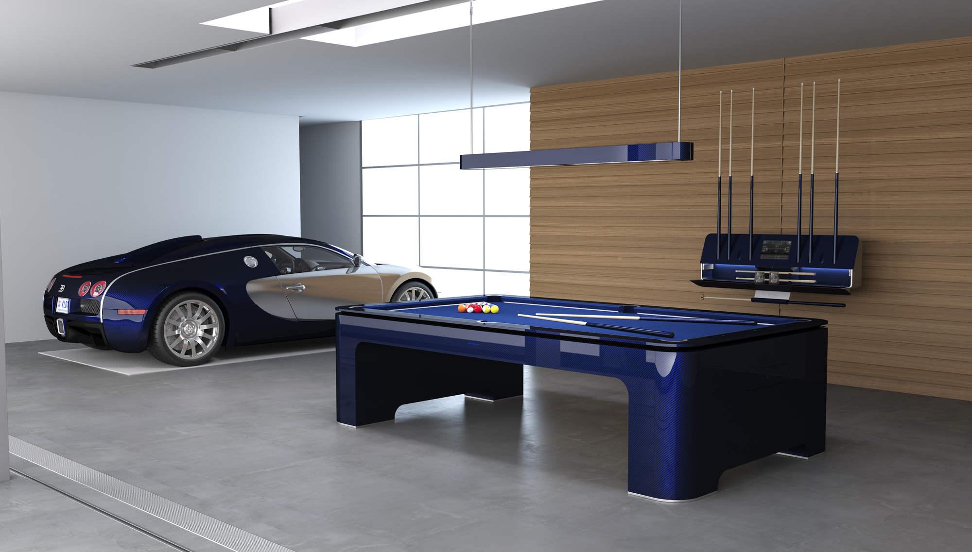 Luxusní kulečník Elysium bugatti