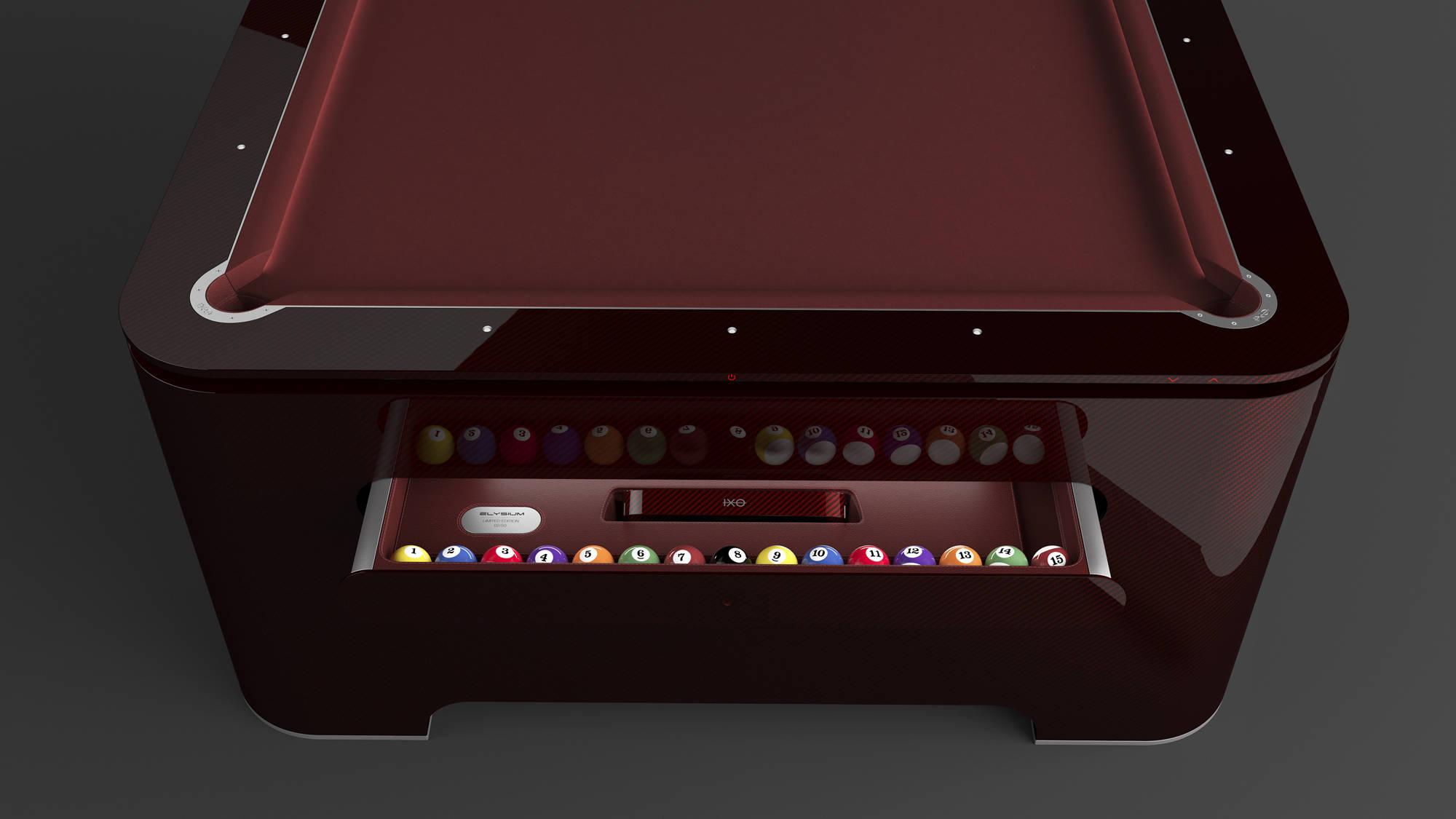 Luxusní kulečníkový stůl Elysium