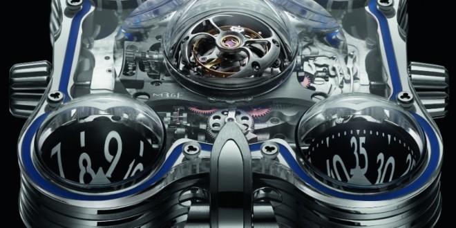 Luxusní hodinky MB&F HM6 SV Sapphire Vision