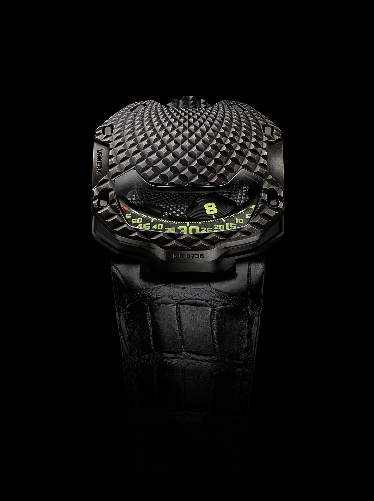 Luxusní hodinky Urwerk UR105 T-Rex