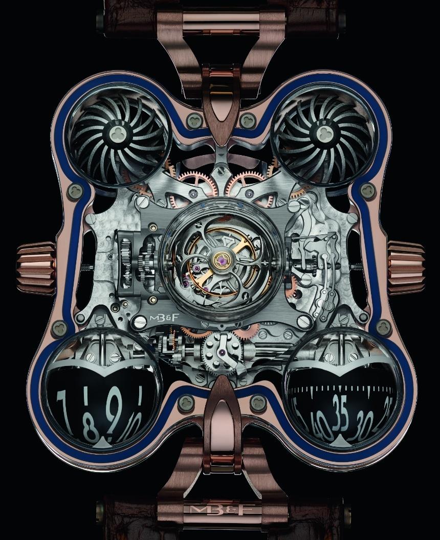 Luxusni hodinky MB&F HM6 SV Sapphire Vision