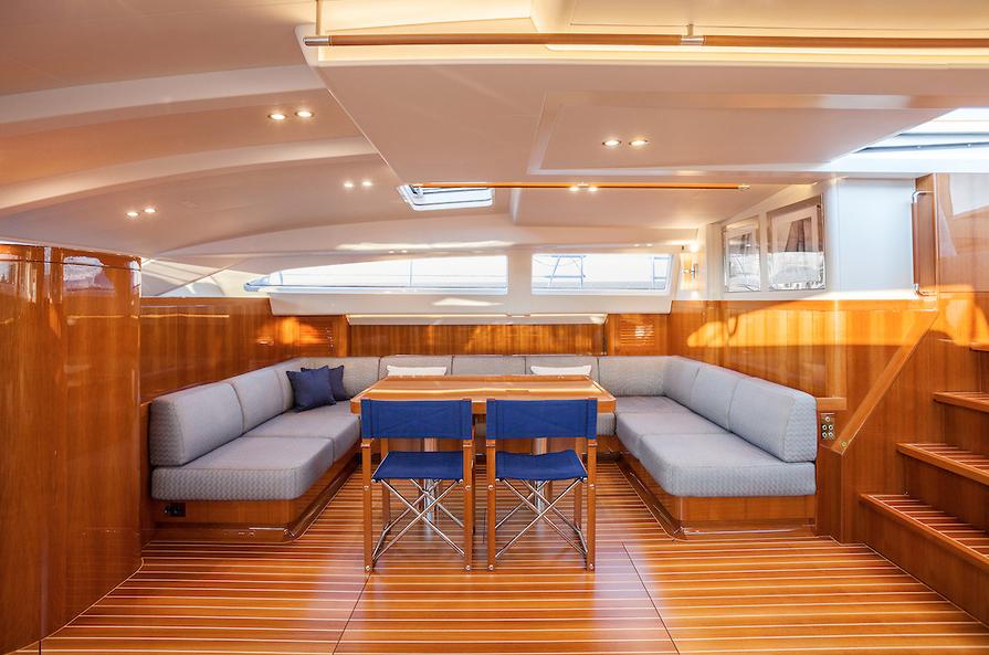 Luxusni plachetnice Nautors Swan 115S