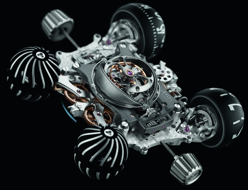 MB&F HM 6 SV Sapphire Vision