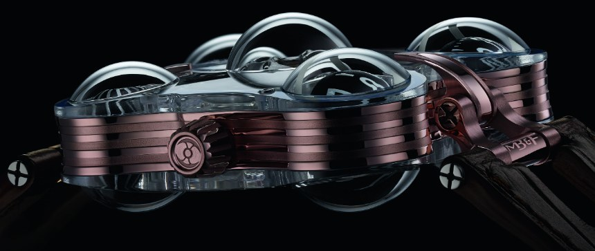 "MB&F Horological Machine No. 6 SV ""Sapphire Vision"""