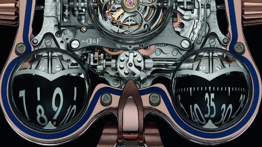 MB&F Horological Machine No. 6 SV Sapphire Vision