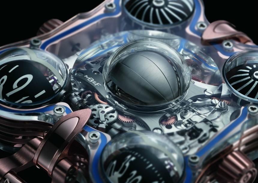 Mechanismus hodinek MB&F Horological Machine No. 6 SV