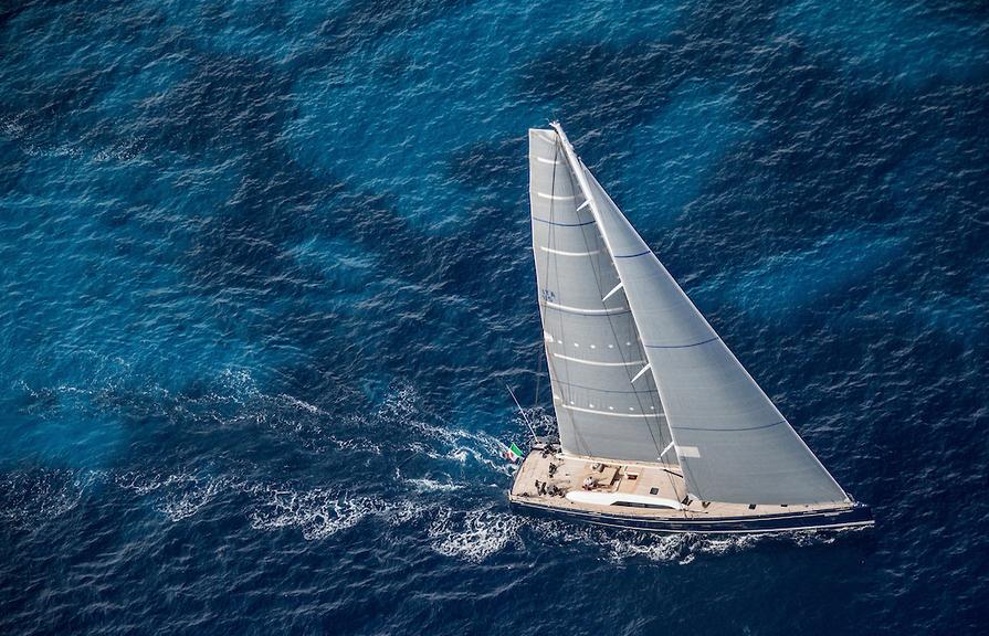 Nautors Swan 115 S luxusní plachetnice