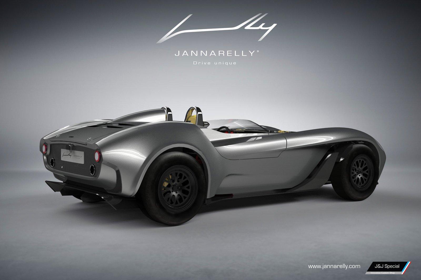 Sportovní roadster Jannarelly Design-1