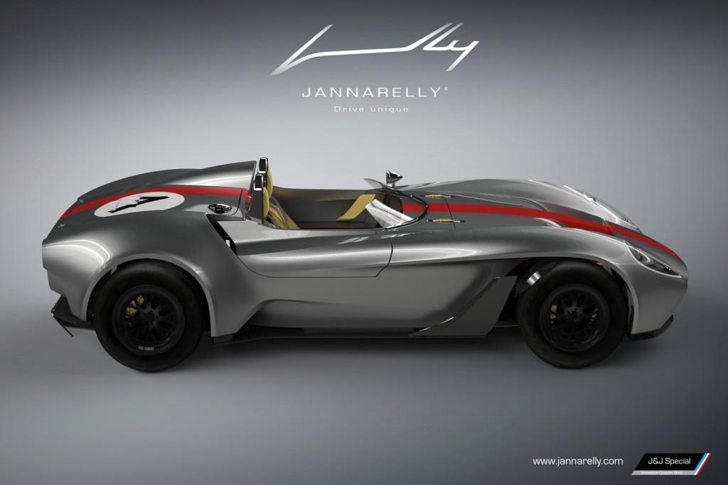 Stylový roadster Jannarelly Design-1
