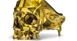 luxusní zlaté křeslo