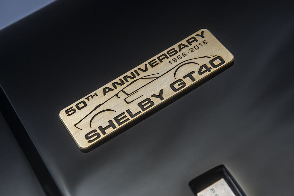 Ford GT40 50th Anniversary Edition Shelby