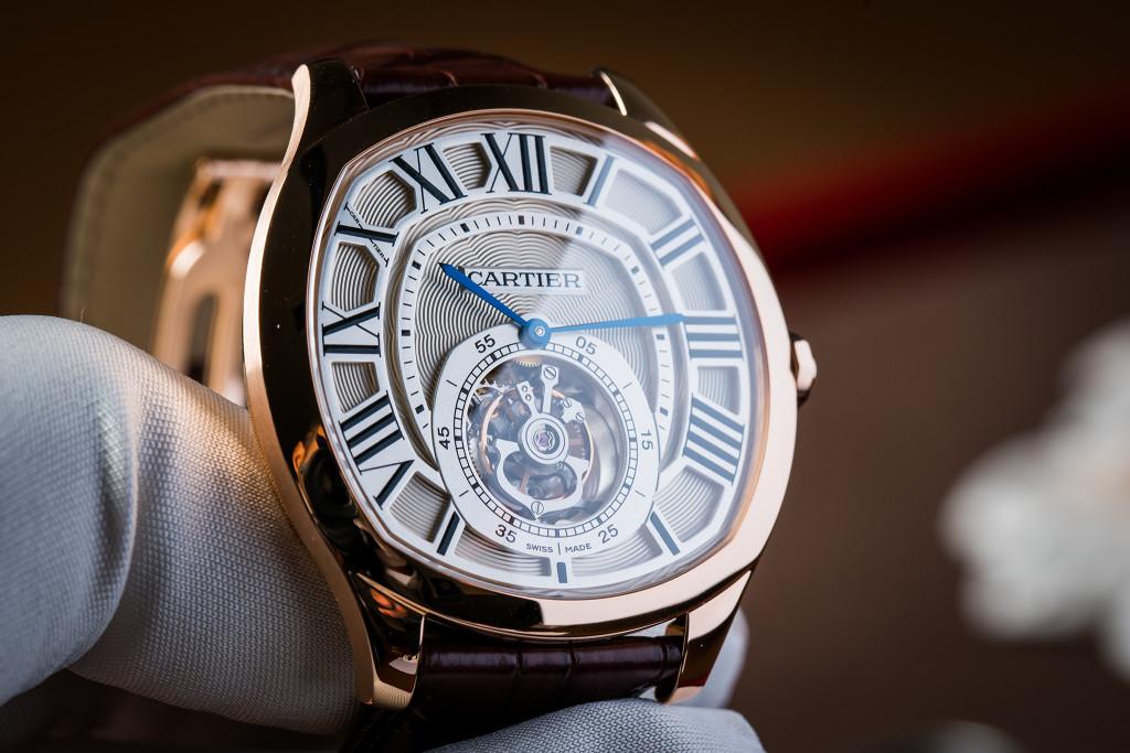 Hodinky Cartier Drive de Cartier Flying Tourbillon