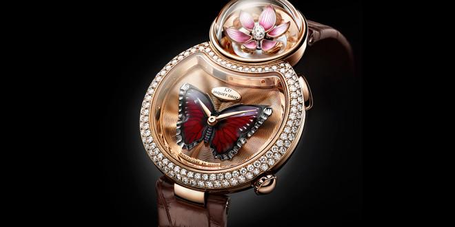 Luxusní dámské hodinky Jaquet Droz Lady 8 Flower