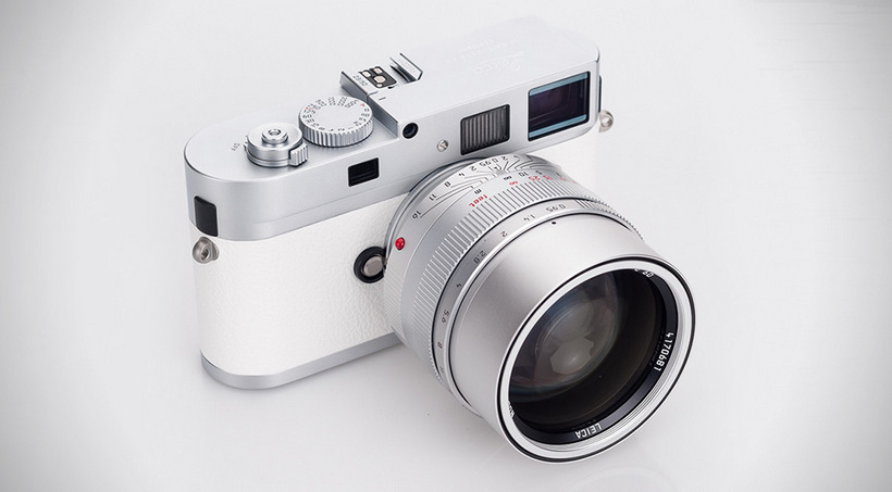 Luxusní fotoaparát Leica M9-P White Limited Edition
