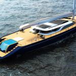Luxusní plachetnice Ferrari & Franchi