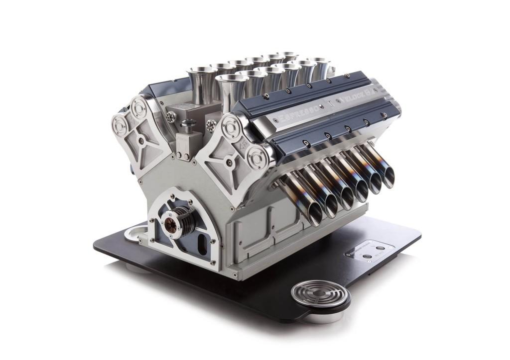 Luxusní kávovar - Espresso Veloce Serie Titanio V12