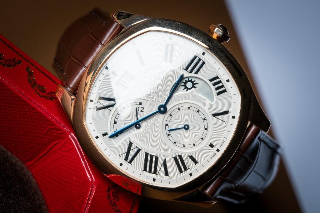 Luxusní pánské hodinky Cartier Drive de Cartier