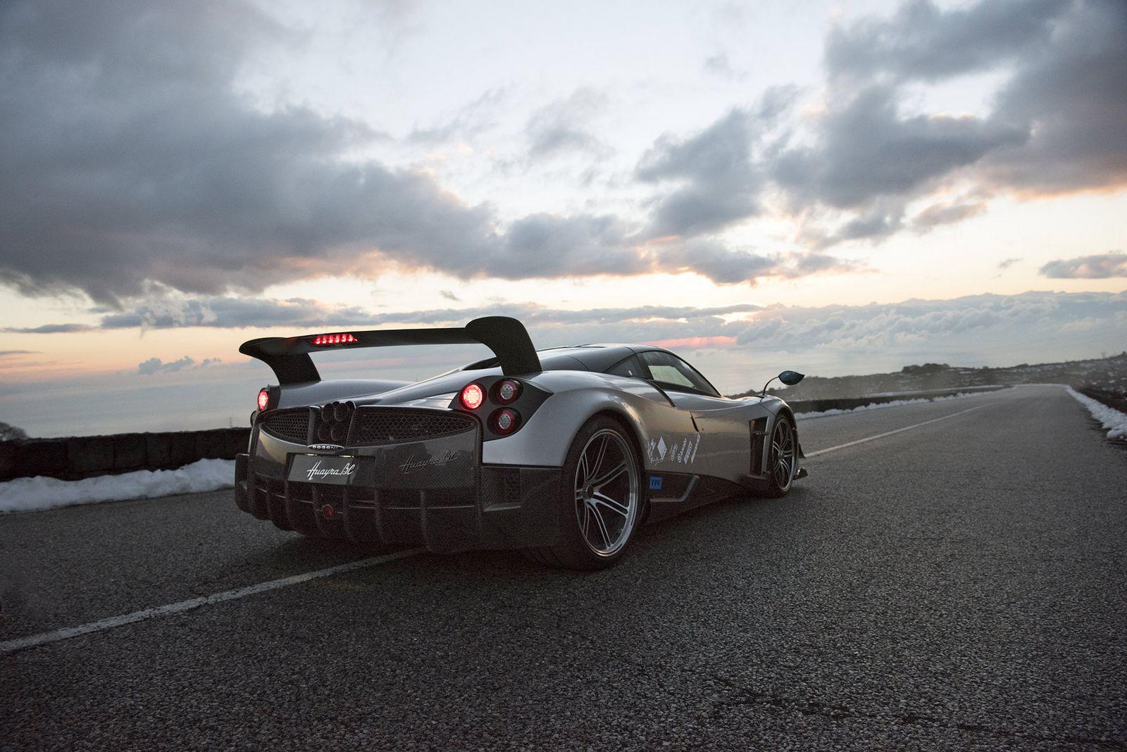 Luxusní sportovní vůz Pagani Huayra BC