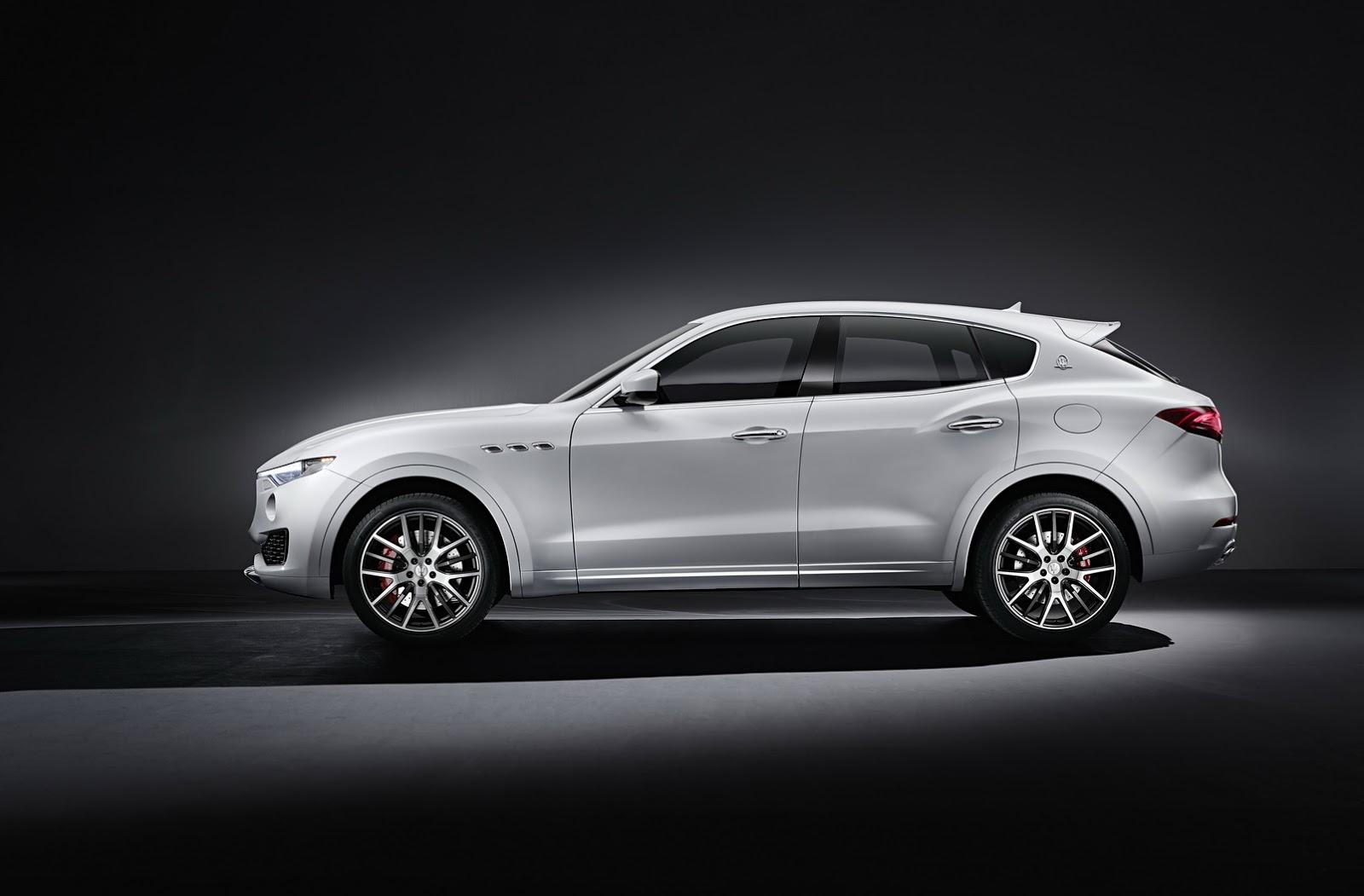 Maserati Levante luxusní SUV