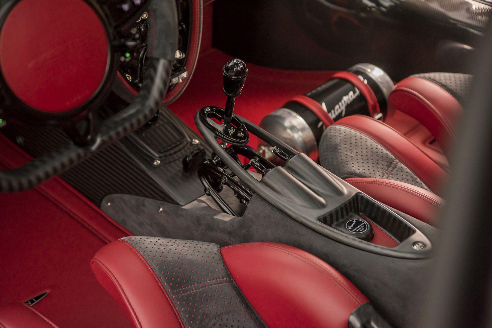 Pagani Huayra BC sportovní vůz limitované edice
