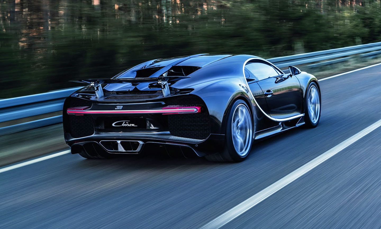 Bugatti Chiron pro rok 2016