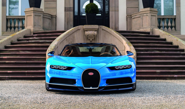Bugatti Chiron sportovní vůz