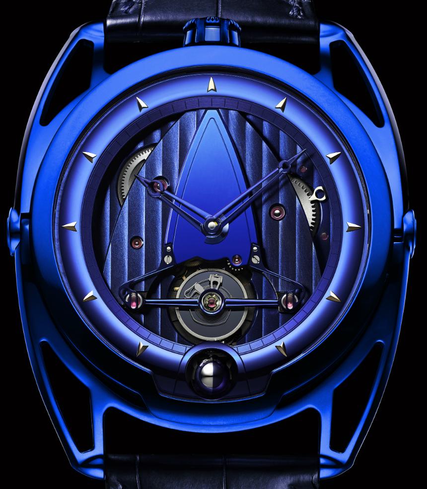 De Bethune DB28T Kind of Blue - luxusní hodinky