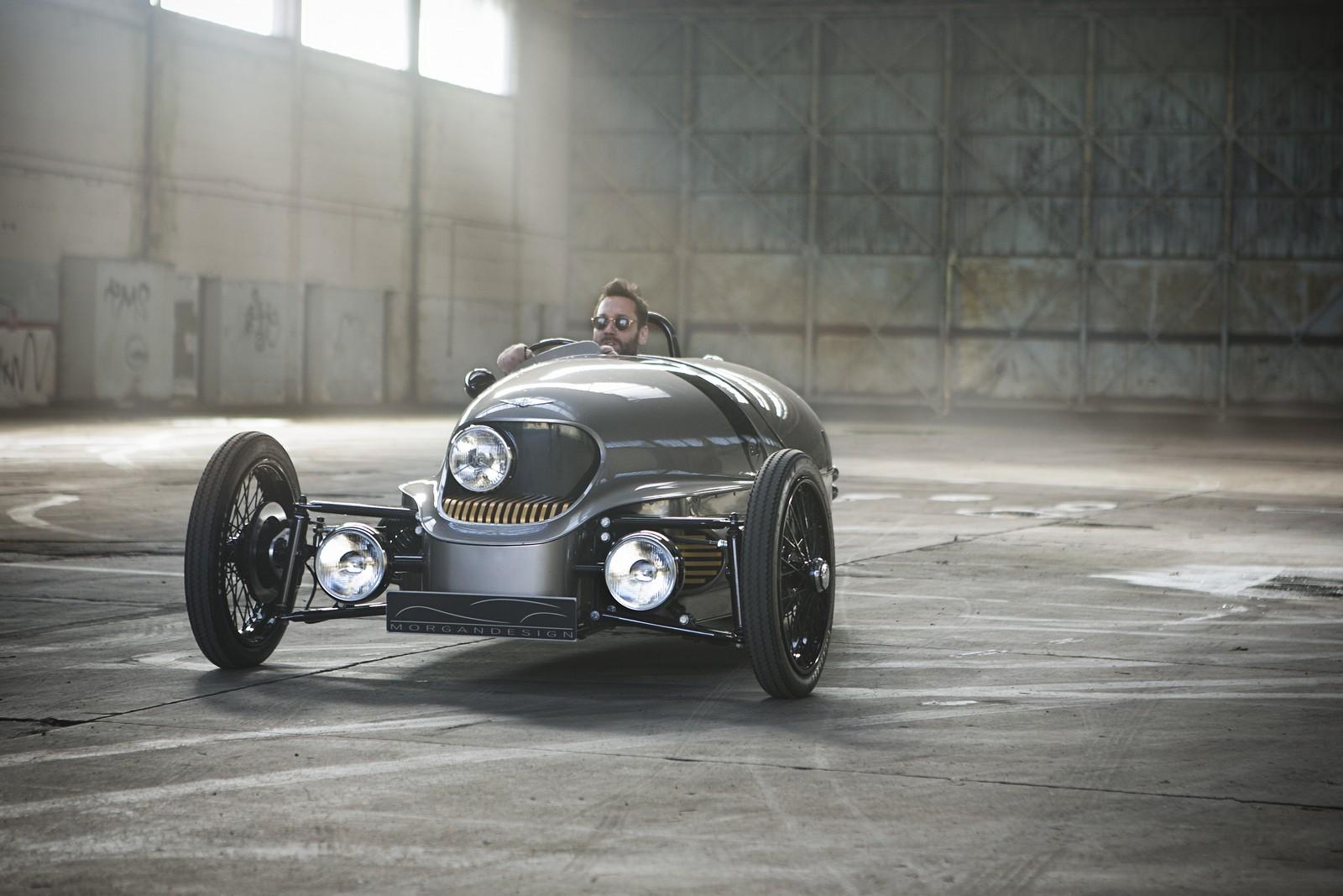 Elektromobil Morgan EV3